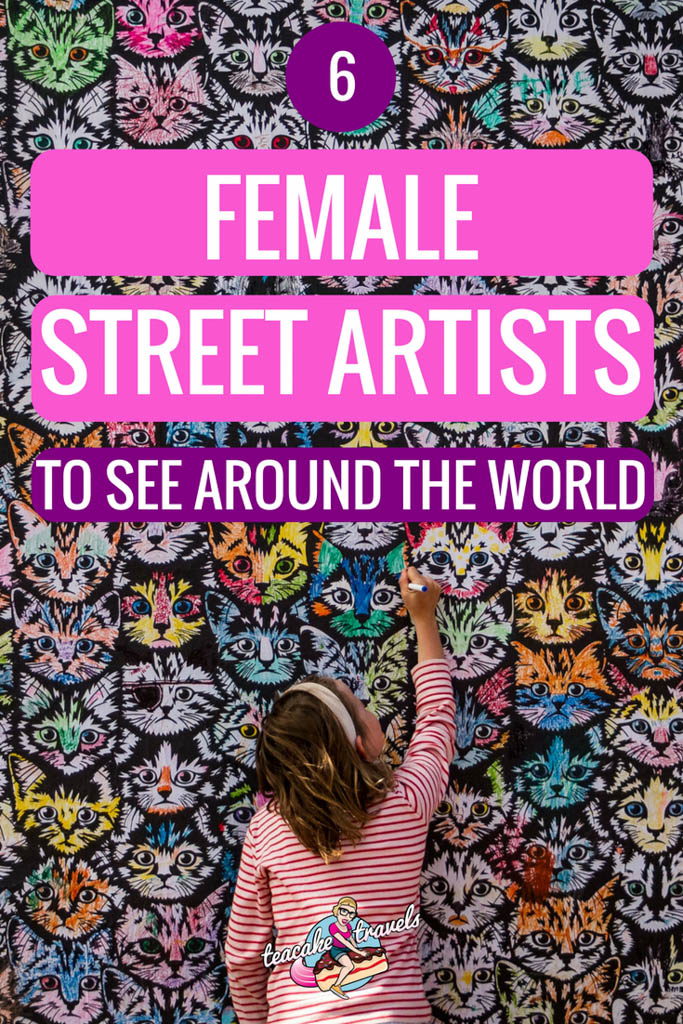 6 Female Graffiti Artists To See Around The World