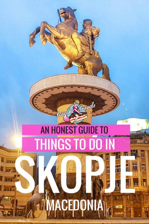 Things to do in Skopje Macedonia