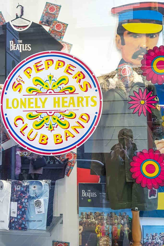 The Cavern Quarter in Liverpool with The Beatles Memorabilia