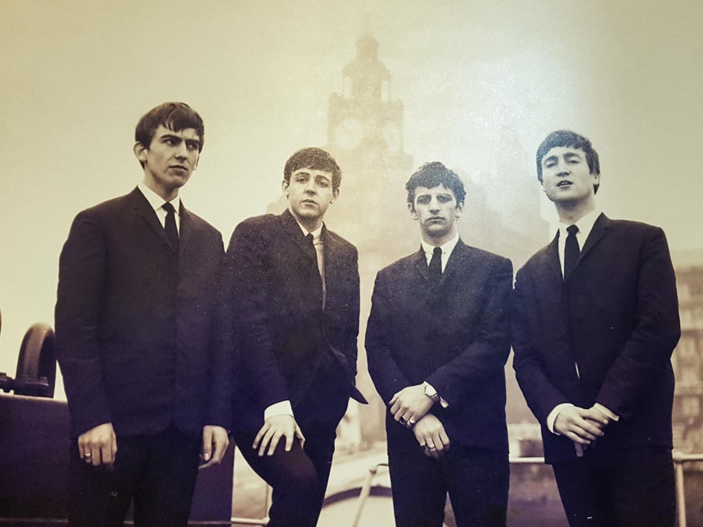 The Beatles in Liverpool at The Beatles Story
