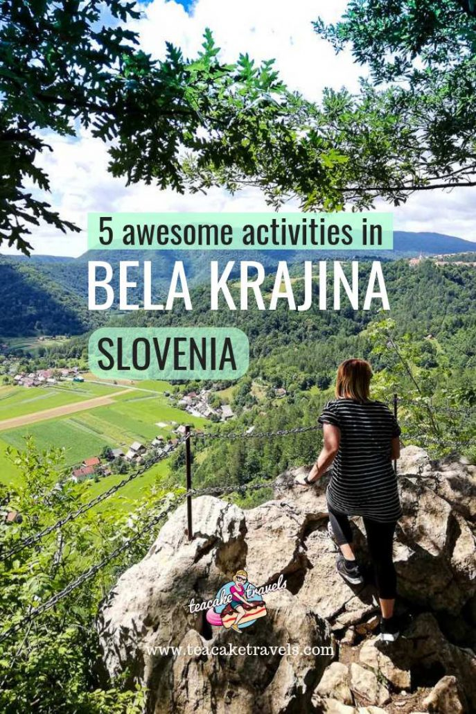 Are you looking for off-the-beaten path in Slovenia Europe? You need to head to Bela Krajina Slovenia! There's plenty of hiking, rafting, traditional dance, homemade food and lush green countryside to enjoy! Discover what is outside the capital of Ljubljana and Lake Bled, and head to the deep south! This is where it's at in Slovenia #slovenia #iloveslovenia #travel #europe