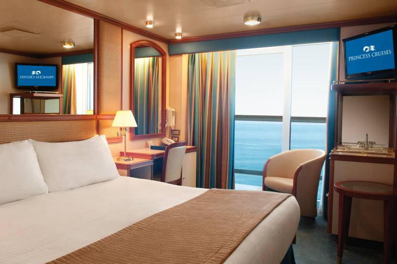 Princess Cruises Balcony Stateroom