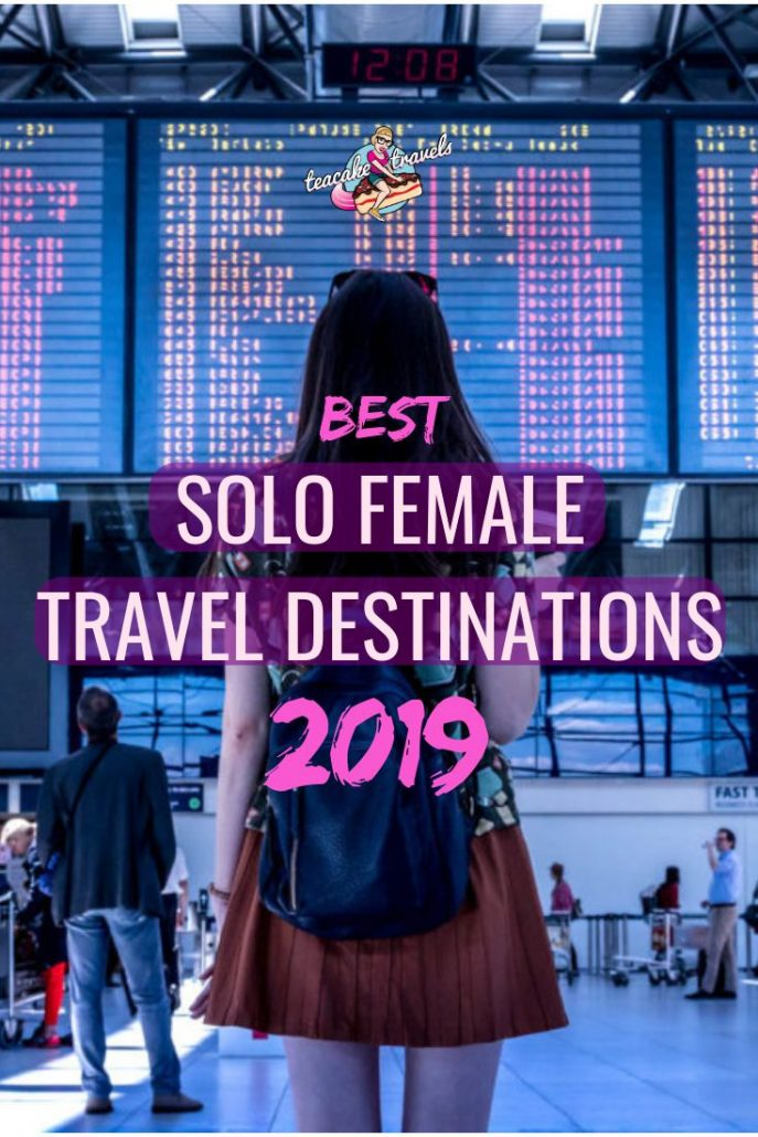 What are your travel goals for 2019? Where are you going to travel to? Check out these Best Solo Female Travel Destinations for 2019 - with 2 top destinations for EACH month of the year! Click on the pin to start planning your adventures and get your FREE solo female travel destinations list #travel #solotravel #solofemaletravel #destinations