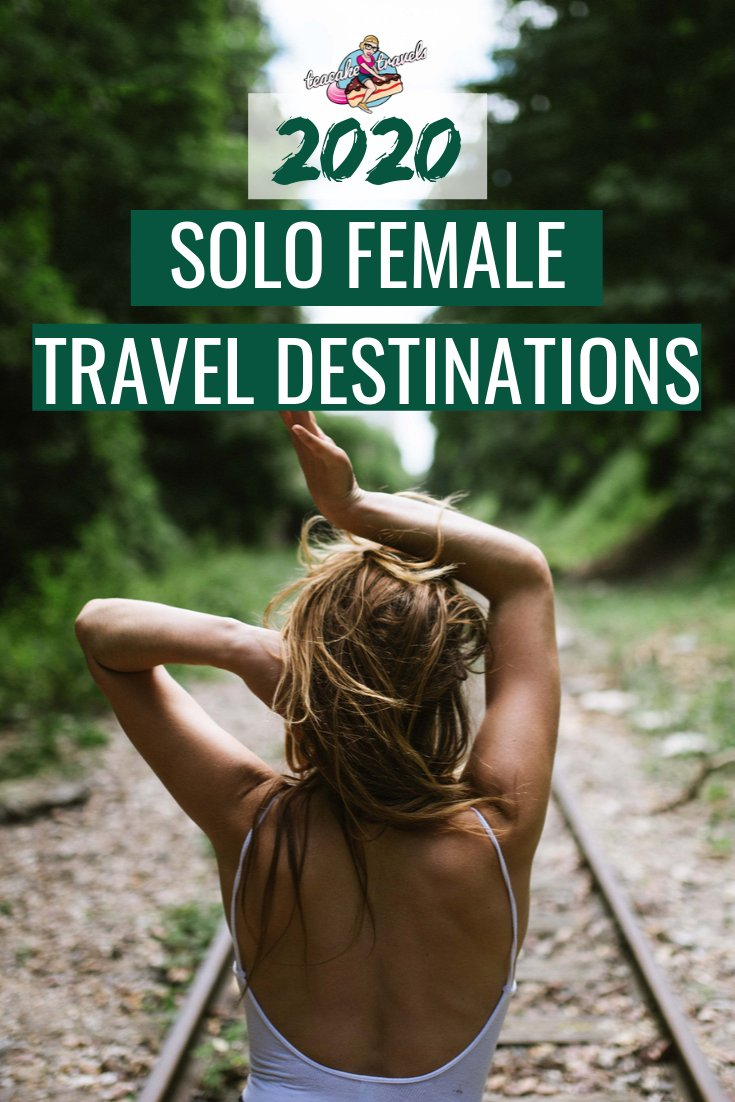 These are the Best Solo Female Travel Destinations for 2020! Click on the pin to go to Teacake Travels and read my updated and fully comprehensive post on what my favourite solo travel destinations are for all you ladies out there. You can do this! Go get it girl! #solotravel #solofemaletravel #solofemaletraveldestinations #solotravelfemale #solotraveltips #solotraveller #traveldestinations #travelinspiration #travelinspired