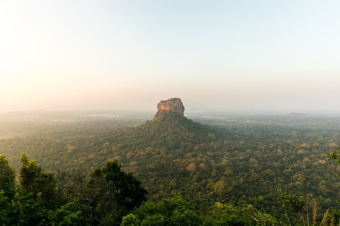 Sigiriya Ancient Rock Fortress in Sri Lanka