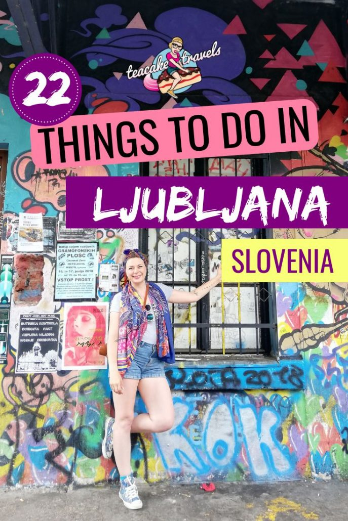Discover one of the most fascinating capital cities in Europe: welcome to Ljubljana in Slovenia! There's plenty of things to do in Ljubljana Slovenia, including exploring this amazing art space in the heart of the city!