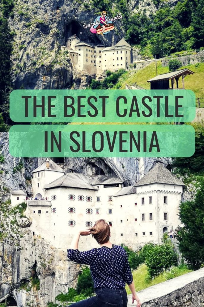 Are you looking for a day trip from Ljubljana Slovenia? You must head to this castle built into the side of a cliff. It's a true fairytale!