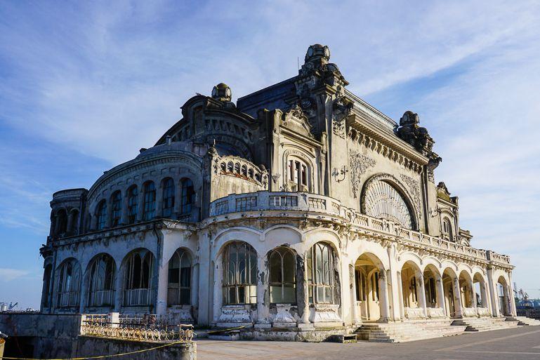 Constanța Casino in Constanta Romania