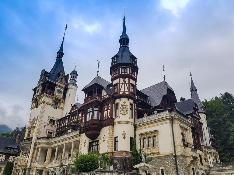 Things to do in Transylvania Romania include Peles Castle