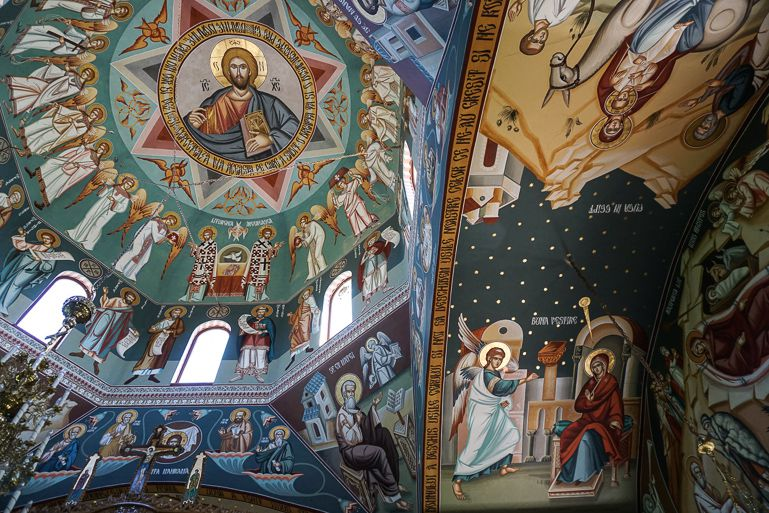 What to see in Romania? Visit the church in SfantuGheorghe Village in the Danube Delta