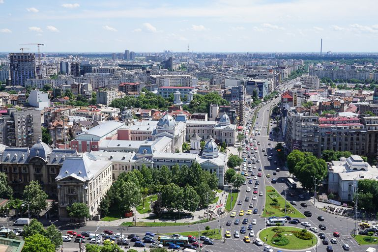 See all of the bucharest tourist attractions on a walking tour