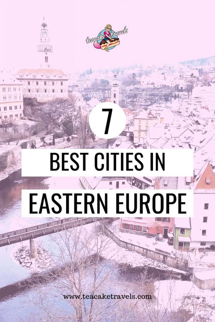 7 Best Cities in Eastern Europe To Visit: These are the 7 best cities in Eastern Europe to visit now before they become too popular. Make the most of your Eastern European break. Visit these gems! #europetravel #europeantravel  #europe #travel #easterneurope