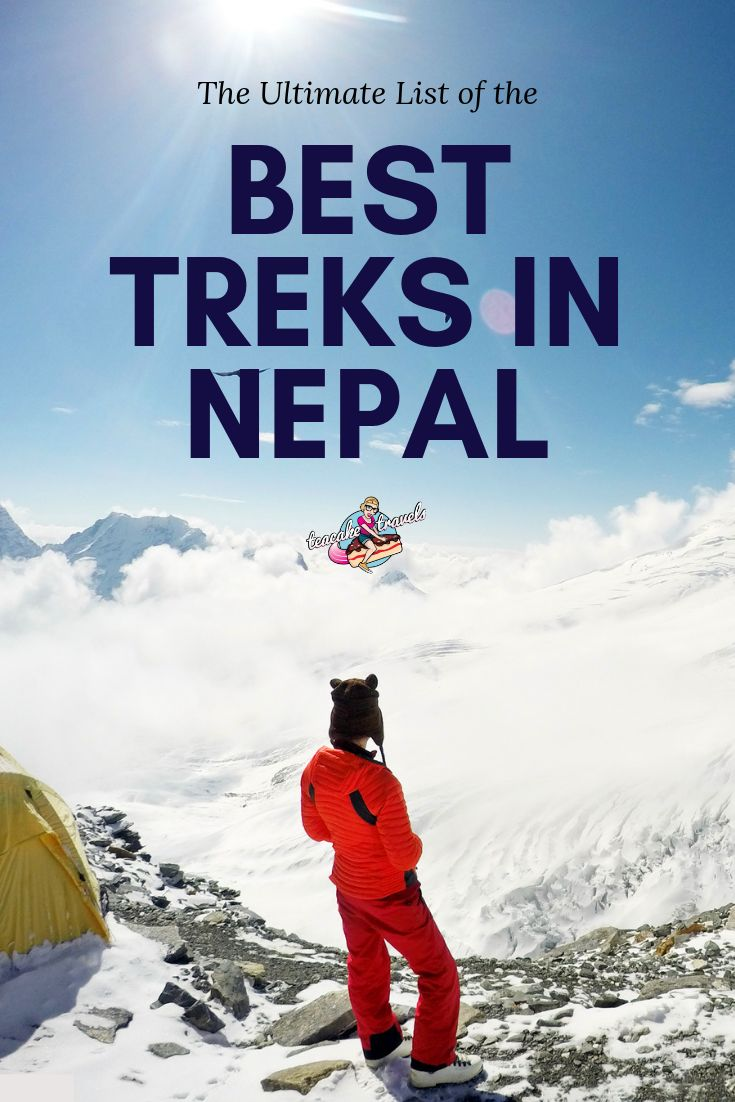 Get your Nepal trekking experiene right with this ultimate list of the best treks in Nepal! Includes Everest Base Camp, Annapurna, Mera Peak & Poon Hill.