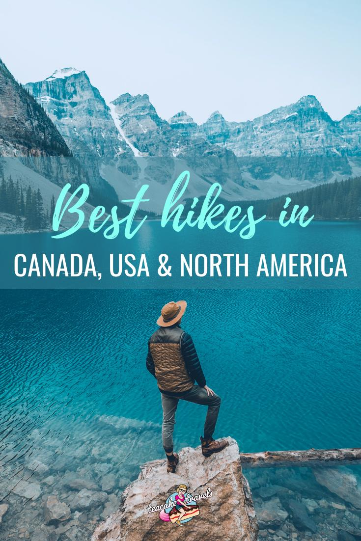 Are you going mountain hiking in North America? We've got the best hikes in Canada, the USA and beyond right here including Banff and the Appalachian Trail!