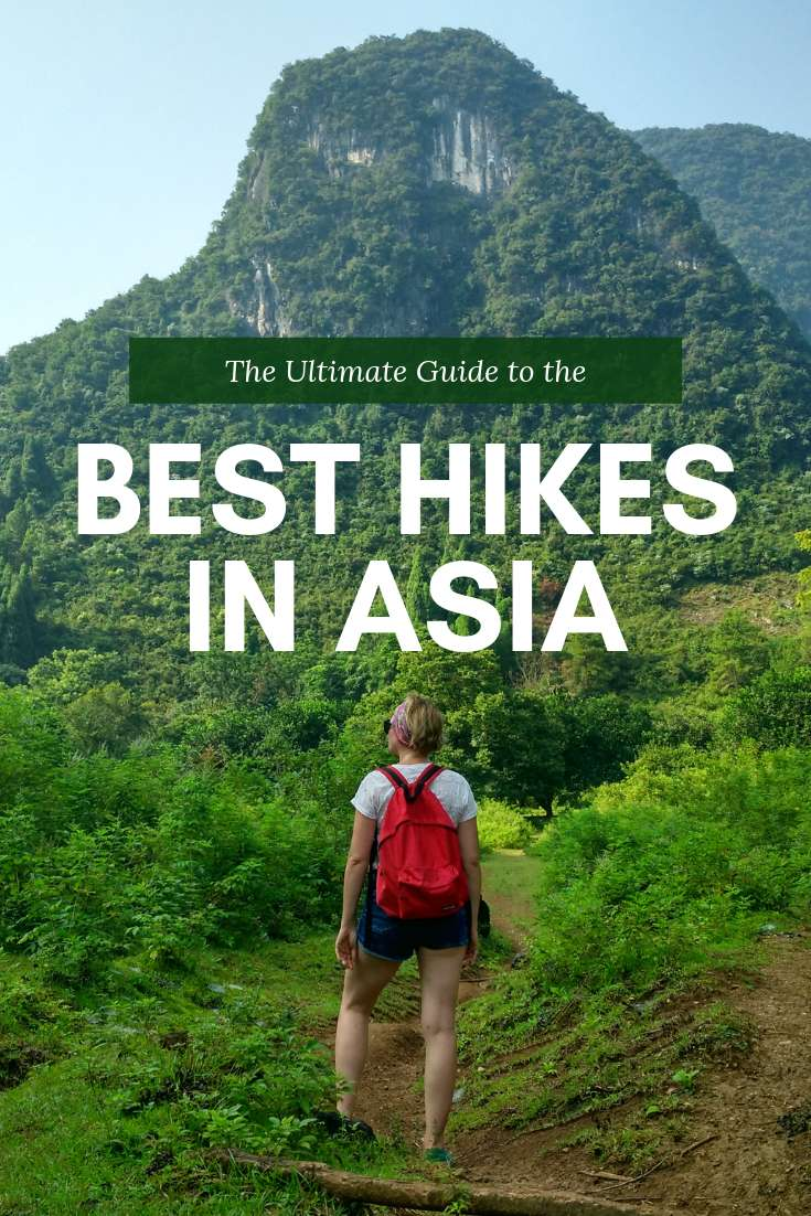 17 Hiking in Asia Trails You'll Want To Complete - Teacake