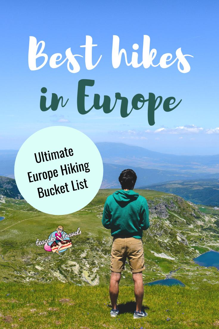 Best hikes in europe