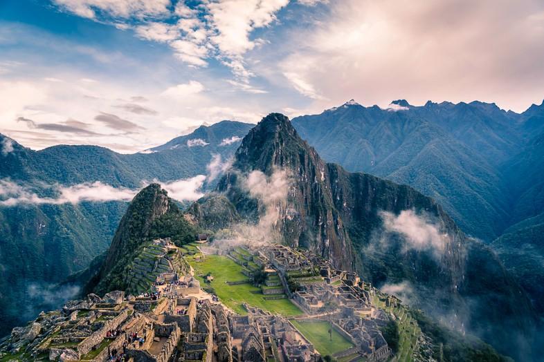 Inca Trail to Macchu Pichu