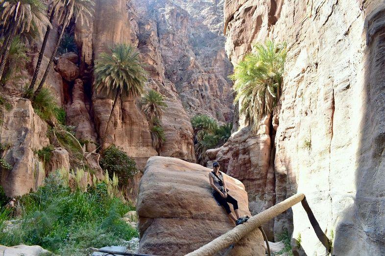 Wadi Ghuweir in Dana Jordan