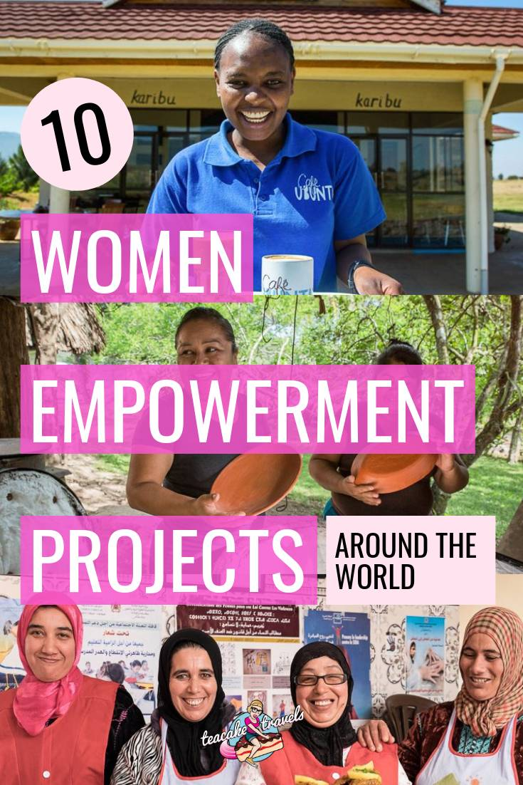 How can we help empower and support the people who live in the amazing places we visit? Here's 10 amazing women empowerment projects you can be a part of around the world! #womenempowerment #girlpower #travelinspiration #travel #ecotourism #iwd #traveling