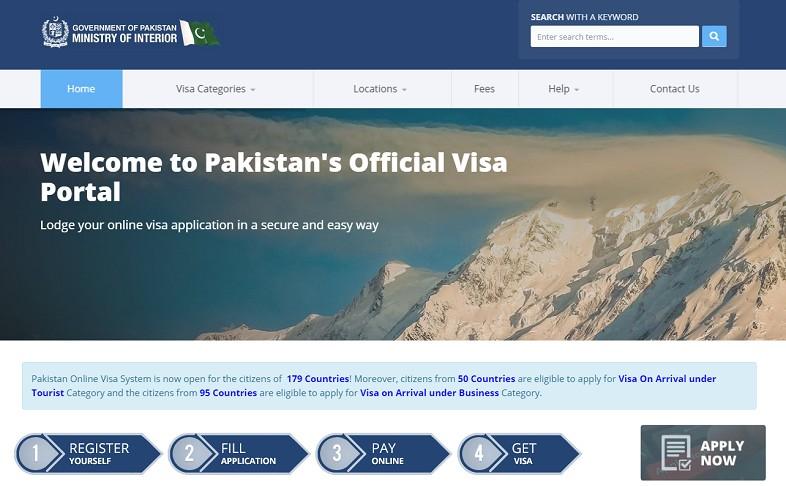 Pakistan Official Visa Portal