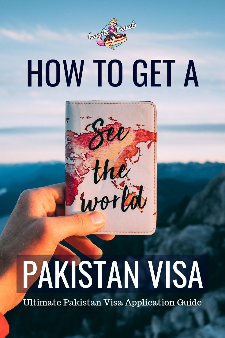 How to get a visa for Pakistan