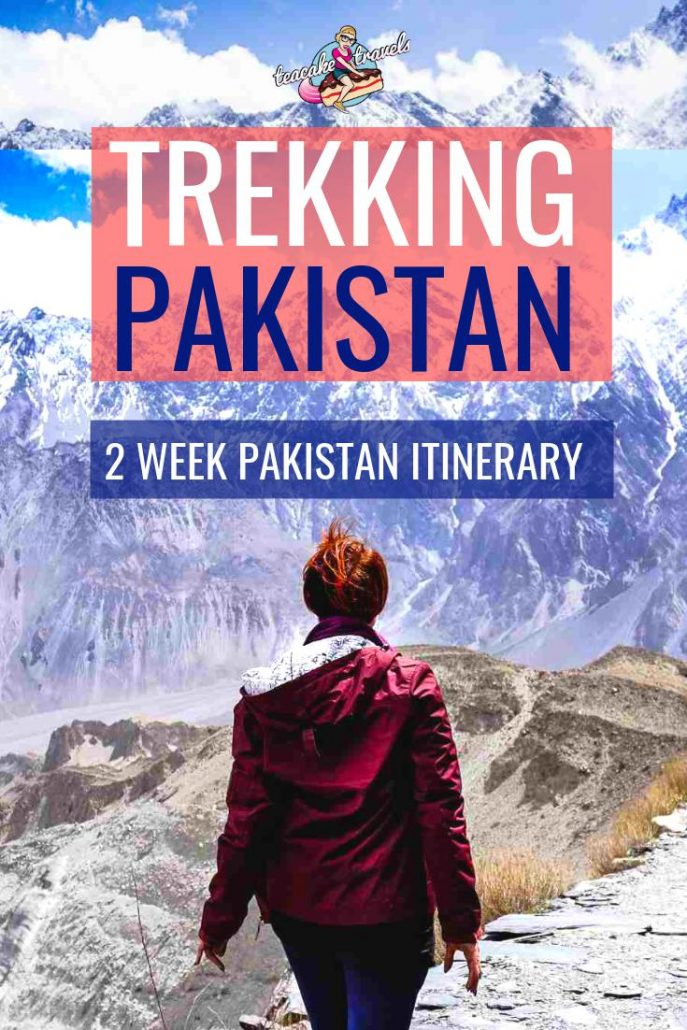 You must go trekking in Pakistan! Here's my 14 day Hiking in Pakistan Itinerary in Hunza. Includes Nanga Prabat, Fairy Meadows, Karimabad & Ghulkin Village!