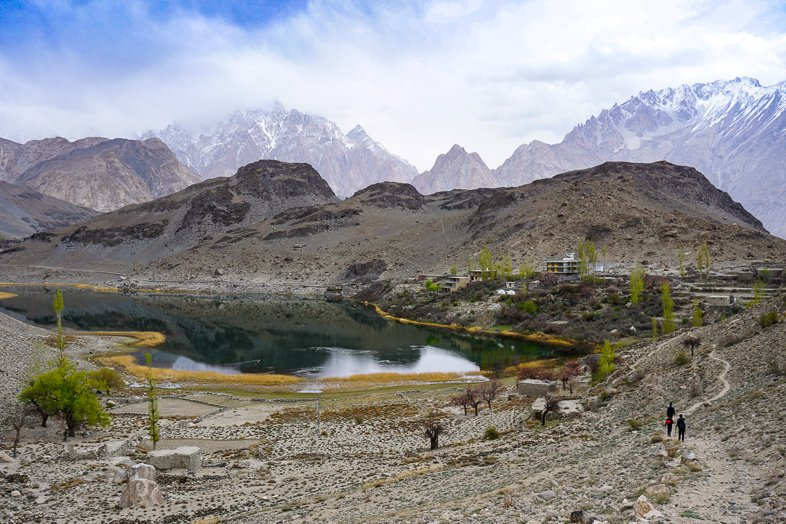 Lake Borith in Hunza Pakistan