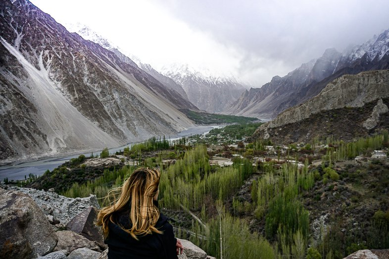 Ghulkin Village in Hunza Pakistan