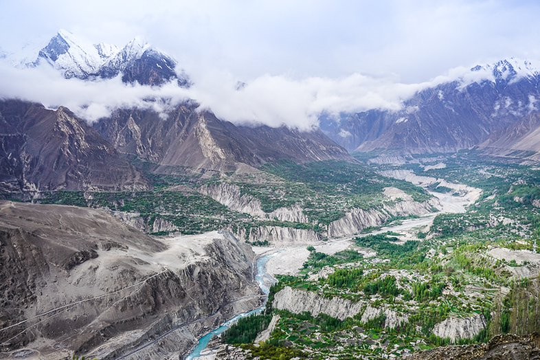 Eagles Nest Viewpoint near Karimabad in Hunza