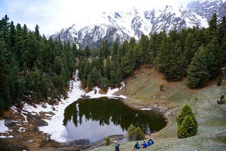 Fairy Meadows Lake in Pakistan