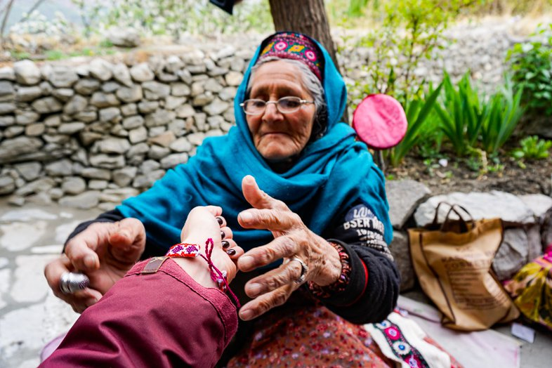 Locals in Karimabad Hunza