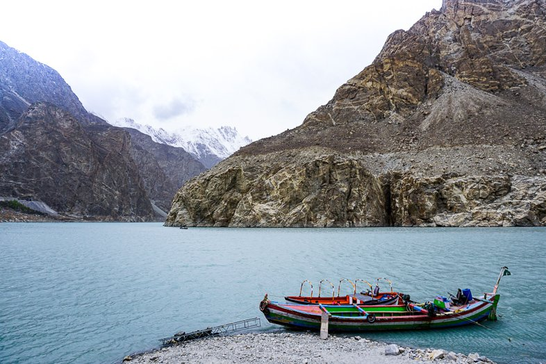 Attabad Lake in Hunza Pakistan