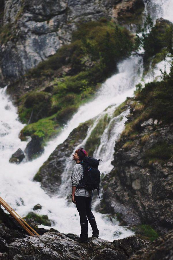 Chasing waterfalls on Cascate Alta trail near Madonna di Campiglio