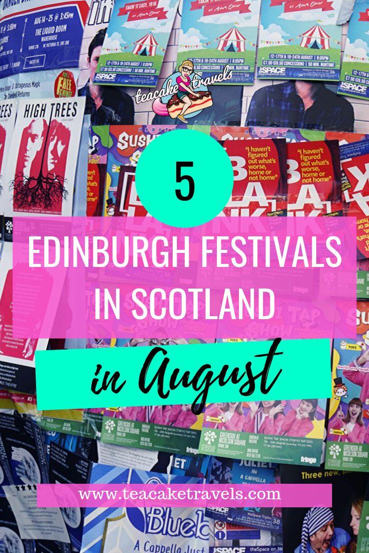 Edinburgh Festival in Scotland