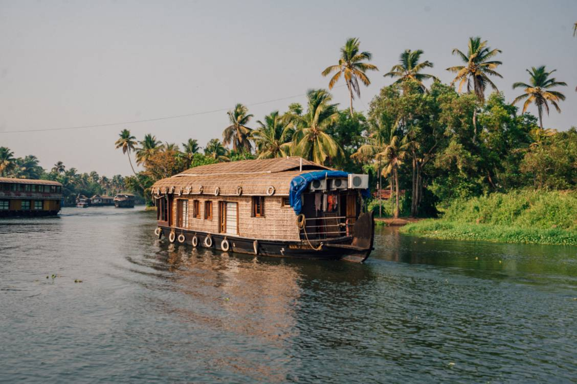 Alleppey Houseboat in Kerala India