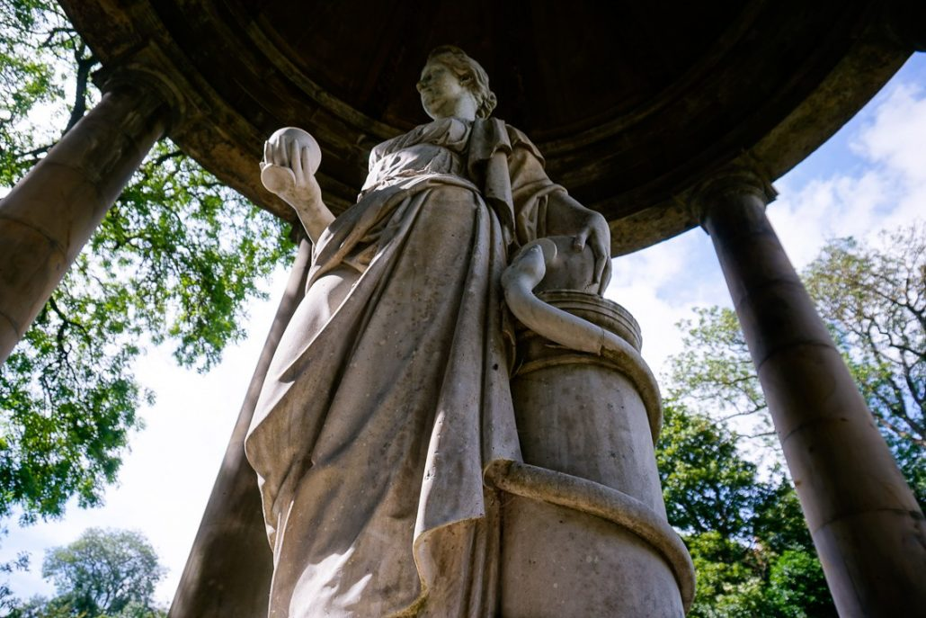 St Bernards Well in Edinburgh