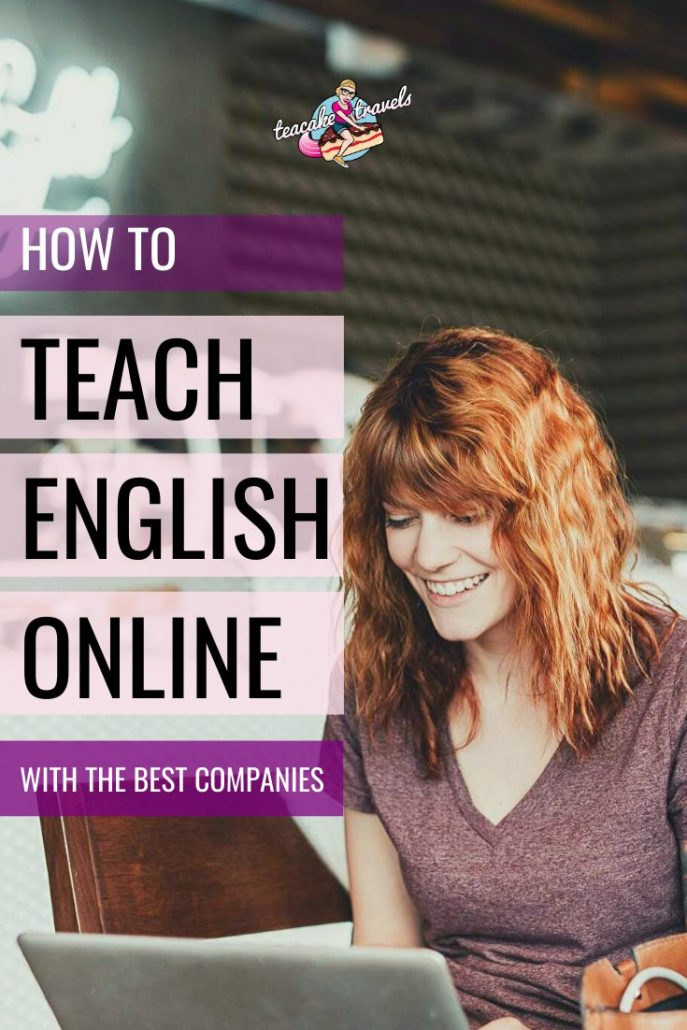 How to teach English online with the best ESL companies! I taught English for 5 years to fund my travels. Why not teach English online to fund yours? Click on the pin to read my ultimate Teaching English guide on my blog Teacake Travels to discover how much money you can make, who to work for and what you need to get started! #esl #eslteacher #onlinebusiness #teacher #tefl #workfromhome #traveljobs #englishteacher #englishteaching #workonline #englishtutor #eslactivities