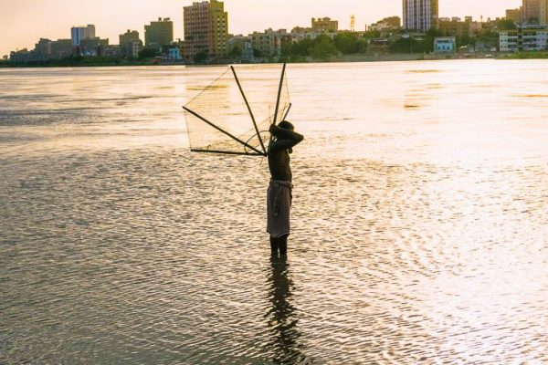Photo of person fishing in Sukkur
