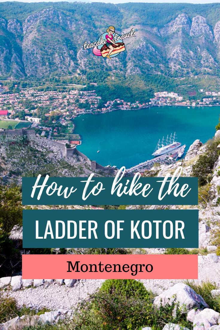 How to hike the ladder of Kotor hike in Montenegro