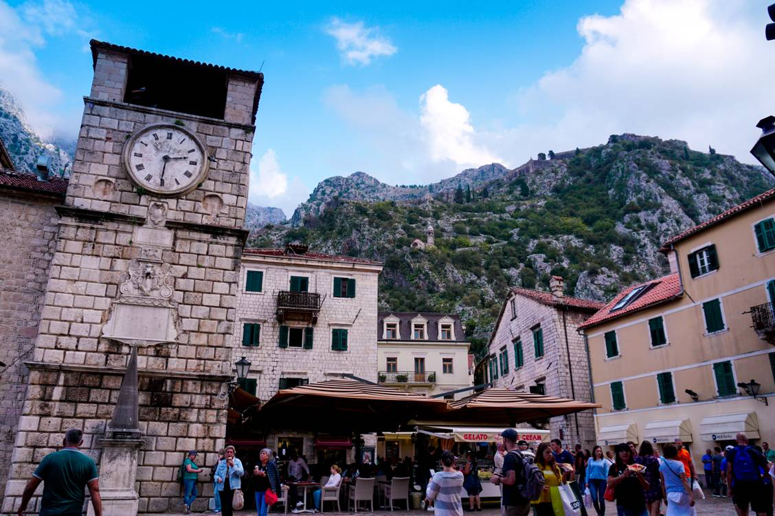 Photo of the Main Square in Kotor