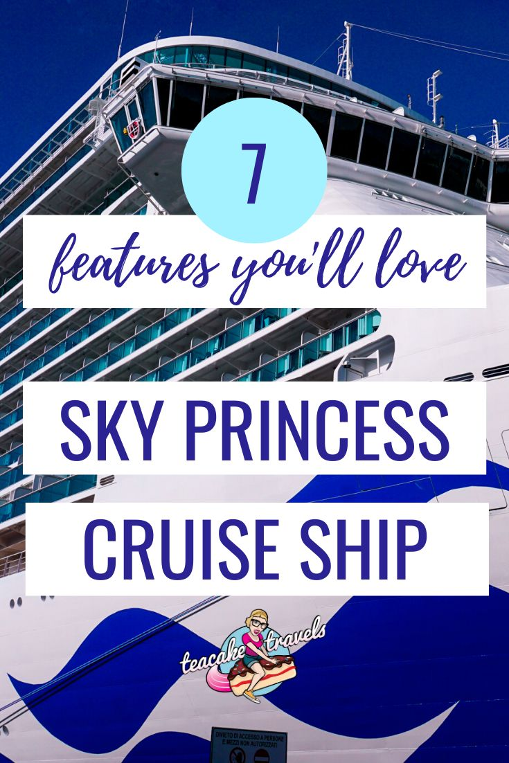 Welcome aboard the Sky Princess Cruise Ship! The new Royal ship from Princess Cruises. If you're curious about what cruise vacations are like when you travel by ship on the Sky Princess, read on to find out my favourite features!