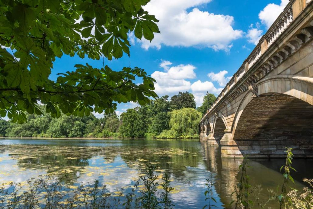 One of my favourite wellness ideas is walking past Serpentine Bridge in Hyde Park. It is beautifully lush green in Summer.