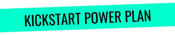 Rapid Transformational Therapy Kickstart Power Plan
